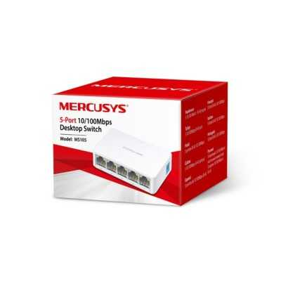 switch 5 porte mercusys ms105